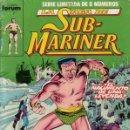 Cómics: LA SAGA DE SUB-MARINER - NAMOR - COMPLETA 8 NÚMEROS - FORUM. Lote 96766871