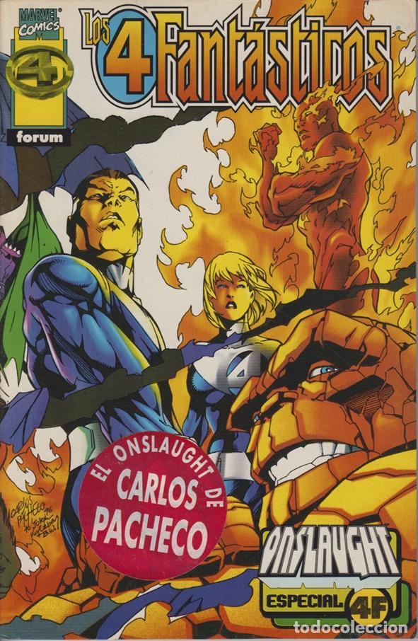 LOS 4 FANTÁSTICOS - ESPECIAL ONSLAUGHT - FORUM (MAYO 1997) 007 (Tebeos y Comics - Forum - Prestiges y Tomos)