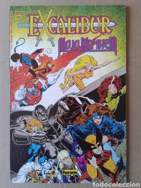 EXCALIBUR: MOJO MAYHEM. EDICIÓN FORMATO PRESTIGIO N°8, DE COMICS FORUM (1990). POR CLAREMONT Y ADAMS (Tebeos y Comics - Forum - Prestiges y Tomos)