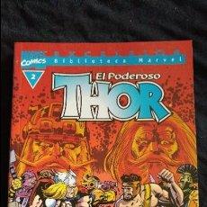 Cómics: THOR EL PODEROSO EXCELSIOR BIBLIOTECA MARVEL Nº 2 EL ESTADO ES MUY BUENO . Lote 96972375