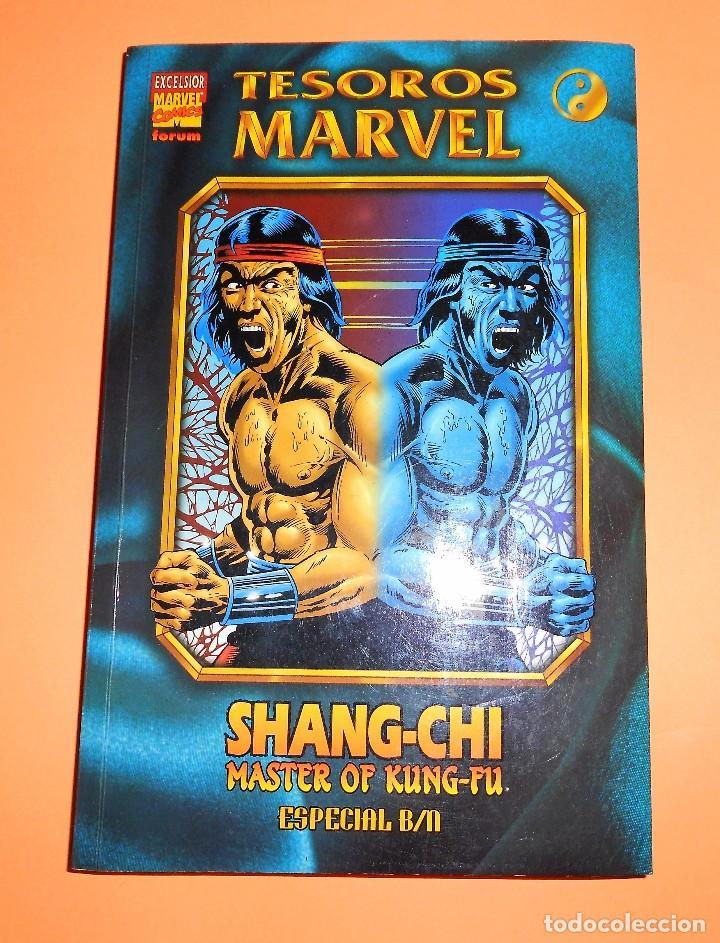 SHANG-CHI MASTER OF KUNG-FU. ESPECIAL B/N TESOROS MARVEL. RUSTICA. BUEN ESTADO. (Tebeos y Comics - Forum - Prestiges y Tomos)