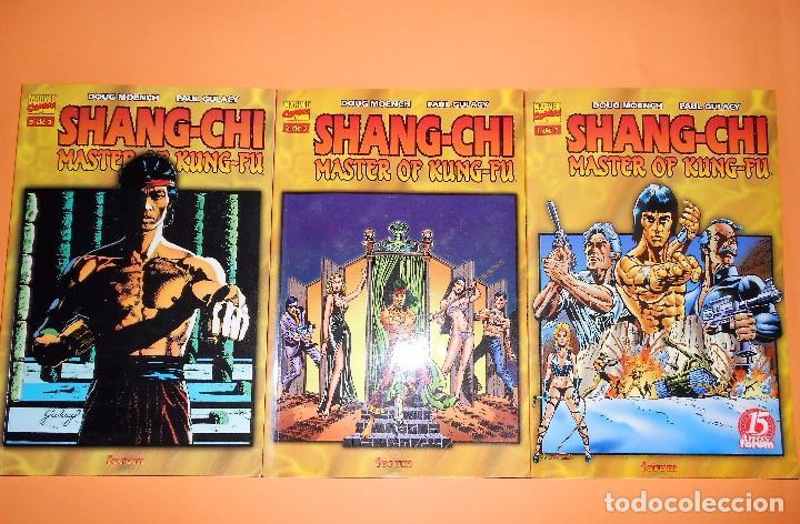 SHANG-CHI MASTER OF KUNG-FU. TRES TOMOS EN BUEN ESTADO. PRESTIGE. (Tebeos y Comics - Forum - Prestiges y Tomos)