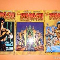 Cómics: SHANG-CHI MASTER OF KUNG-FU. TRES TOMOS EN BUEN ESTADO. PRESTIGE.. Lote 97039191