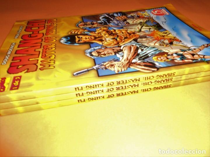 Cómics: SHANG-CHI MASTER OF KUNG-FU. TRES TOMOS EN BUEN ESTADO. PRESTIGE. - Foto 3 - 97039191