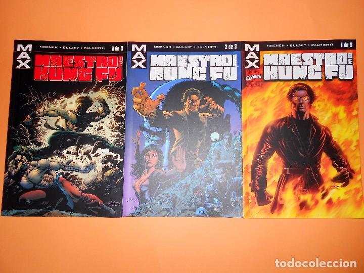 MAESTRO DEL KUNG-FU. SERIE MAX. TRES NUMEROS IMPECABLES. (Tebeos y Comics - Forum - Prestiges y Tomos)