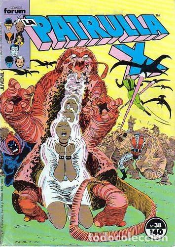 LA PATRULLA-X VOL.1 Nº 38 - FORUM (Tebeos y Comics - Forum - Patrulla X)