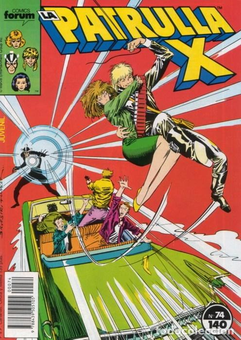 LA PATRULLA-X VOL.1 Nº 74 - FORUM (Tebeos y Comics - Forum - Patrulla X)
