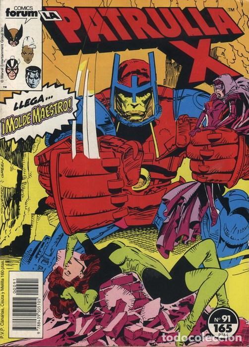 LA PATRULLA-X VOL.1 Nº 91 - FORUM (Tebeos y Comics - Forum - Patrulla X)