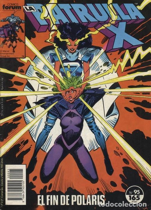LA PATRULLA-X VOL.1 Nº 95 - FORUM (Tebeos y Comics - Forum - Patrulla X)