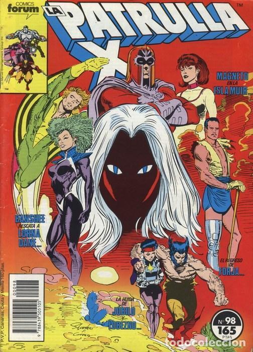 LA PATRULLA-X VOL.1 Nº 98 - FORUM (Tebeos y Comics - Forum - Patrulla X)