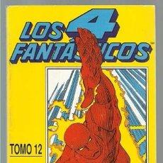 Comics: LOS 4 FANTASTICOS TOMO 12, (106 AL 110) 1991, RETAPADO, FORUM, MUY BUEN ESTADO. Lote 221946786