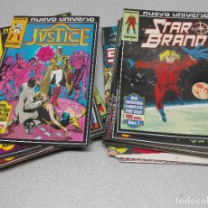 Cómics: NUEVO UNIVERSO: STAR BRAND - JUSTICE - PSI FORCE / COMPLETO 36 CÓMICS / MARVEL - FORUM. Lote 97237083