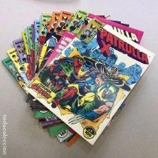Cómics: LOTE PATRULLA X - FORUM - 1984 (17 CÓMICS). Lote 97237443