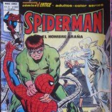 Cómics: TEBEO COMIC SPIDER-MAN SPIDERMAN EDICIONES VÉRTICE VOL 3 NÚMERO 63 E. Lote 97252763