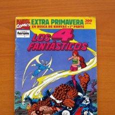 Cómics: LOS 4 FANTÁSTICOS - EXTRA PRIMAVERA 1992 - COMICS FORUM. Lote 97350775