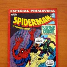 Cómics: SPIDERMAN, EL HOMBRE ARAÑA, EL PODER DEL DUENDE VERDE - ESPECIAL PRIMAVERA 1990 - COMICS FORUM. Lote 97352603