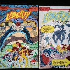Cómics: LOTE 2 COMICS LIBERTY PROYECT . COMICS FORUM Nº 2 Y 3. Lote 97358295