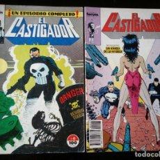Cómics: LOTE 2 COMICS EL CASTIGADOR. COMICS FORUM Nº 6 Y 28, VOLUMEN I. Lote 97358487