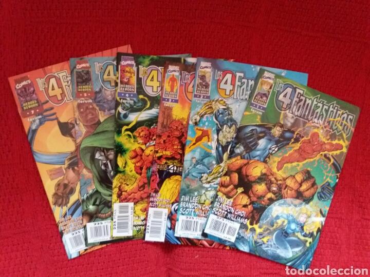 HEROES REBORN LOS 4 FANTÁSTICOS N. 1-2-3-4-5-7 (Tebeos y Comics - Forum - 4 Fantásticos)