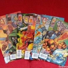 Cómics: HEROES REBORN LOS 4 FANTÁSTICOS N. 1-2-3-4-5-7. Lote 97379239