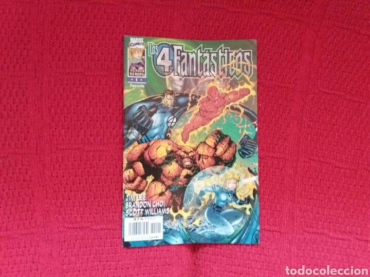 Cómics: HEROES REBORN LOS 4 FANTÁSTICOS N. 1-2-3-4-5-7 - Foto 2 - 97379239
