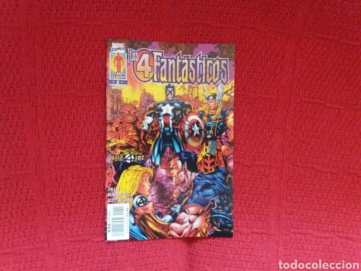Cómics: HEROES REBORN LOS 4 FANTÁSTICOS N. 1-2-3-4-5-7 - Foto 4 - 97379239