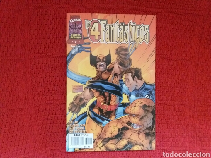 Cómics: HEROES REBORN LOS 4 FANTÁSTICOS N. 1-2-3-4-5-7 - Foto 7 - 97379239