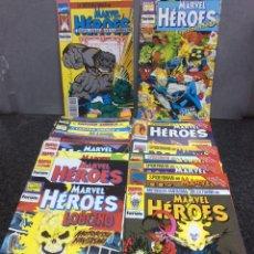 Cómics: MARVEL HEROES, COLECCION COMPLETA 84 NÚMEROS + 10 ESPECIALES - FORUM - AÑOS 80 (FALTA Nº 68,82). Lote 97416915