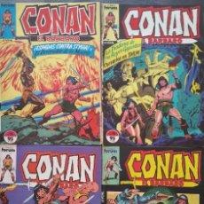Cómics: CONAN EL BARBARO LOTE DE 4 NUMEROS (17, 19, 66 Y 122) COMICS FORUM 1983. Lote 97418787