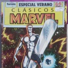 Cómics: CLÁSICOS MARVEL ESPECIAL VERANO (1989). FORUM.. Lote 97435043
