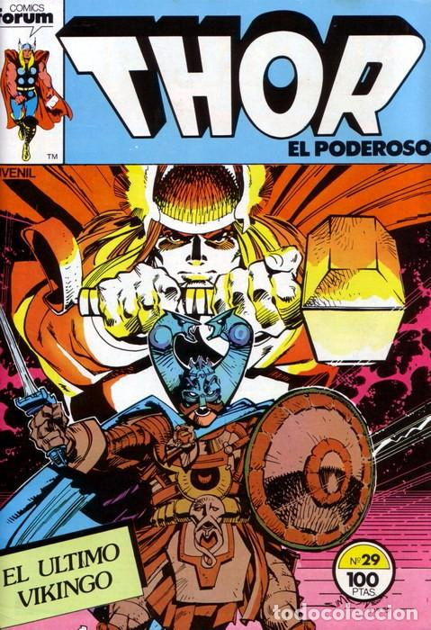 THOR VOL 1 Nº 29 - FORUM (Tebeos y Comics - Forum - Thor)