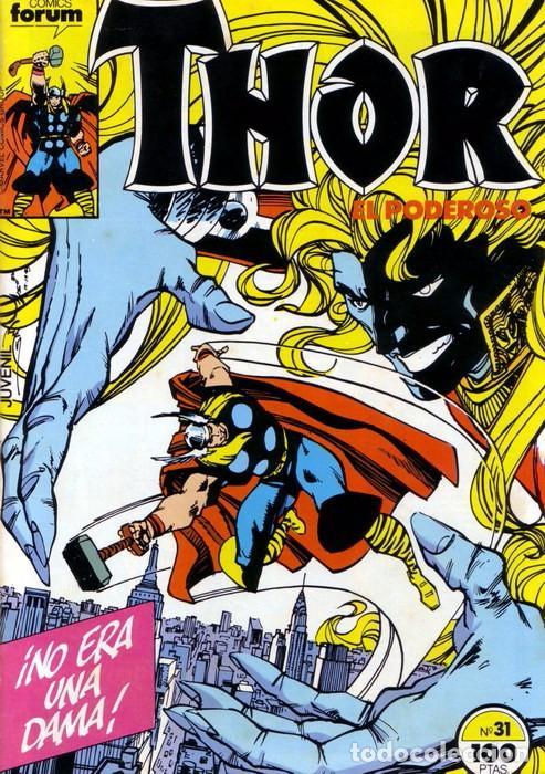 THOR VOL 1 Nº 31 - FORUM (Tebeos y Comics - Forum - Thor)