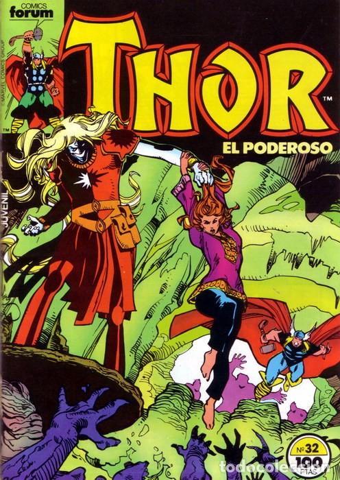 THOR VOL 1 Nº 32 - FORUM (Tebeos y Comics - Forum - Thor)