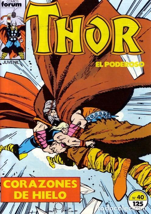 THOR VOL 1 Nº 40 - FORUM (Tebeos y Comics - Forum - Thor)