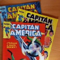 Cómics: LOTE DE 3 COMICS DEL CAPITAN AMERICA DE FORUM. Lote 97715363
