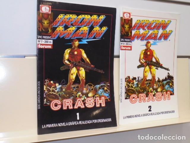 IRON MAN CRASH COMPLETA 2 NUMS. 7 Y 8 - FORUM OFERTA (Tebeos y Comics - Forum - Iron Man)