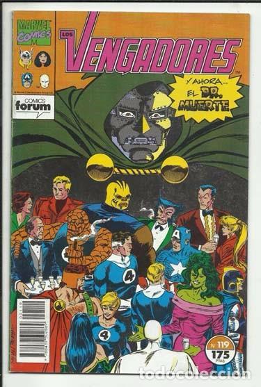 LOS VENGADORES 119, 1992, FORUM, MUY BUEN ESTADO (Tebeos y Comics - Forum - Vengadores)