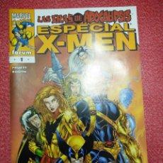 Cómics: ESPECIAL X-MEN. LAS ERAS DEL APOCALIPSIS. FORUM. Lote 97968235