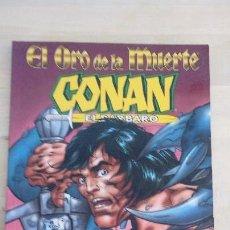 Cómics: CONAN EL BARBARO. EL ORO DE LA MUERTE. ROY THOMAS Y JOHN BUSCEMA. FORUM.. Lote 98015619