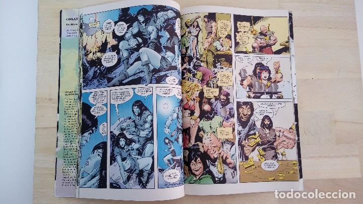 Cómics: CONAN EL BARBARO. EL ORO DE LA MUERTE. ROY THOMAS Y JOHN BUSCEMA. FORUM. - Foto 3 - 113959358