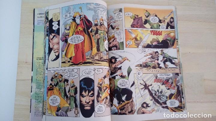 Cómics: CONAN EL BARBARO. EL ORO DE LA MUERTE. ROY THOMAS Y JOHN BUSCEMA. FORUM. - Foto 4 - 113959358