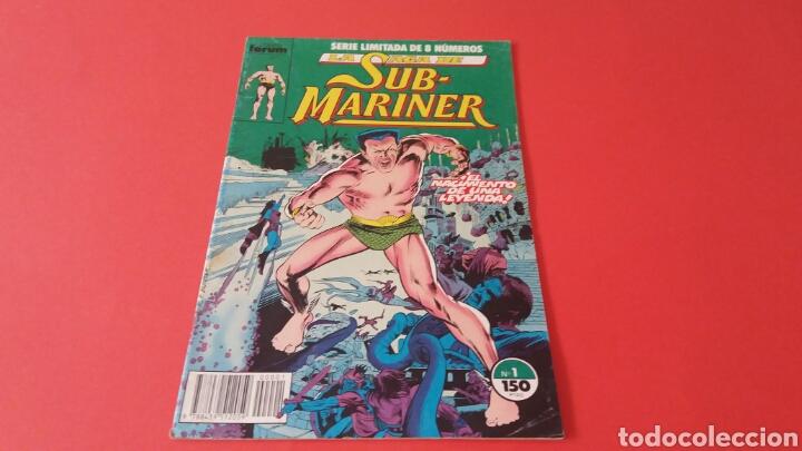 LA SAGA DE SUB MARINER 1 COMICS FORUM (Tebeos y Comics - Forum - Otros Forum)