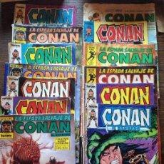 Cómics: CONAN 13 UNIDADES. Lote 98051699