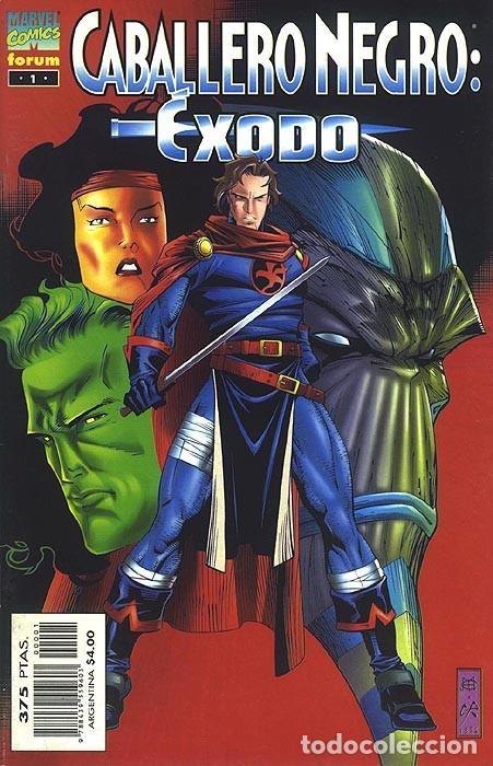 CABALLERO NEGRO: ÉXODO - ESPECIAL FORUM (Tebeos y Comics - Forum - Vengadores)