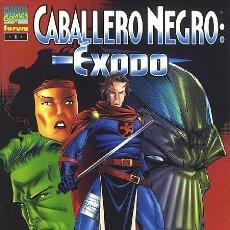 Cómics: CABALLERO NEGRO: ÉXODO - ESPECIAL FORUM. Lote 188453837
