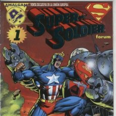 Cómics: SUPER SOLDIER Nº 1 - AMALGAM COMICS - FORUM - MARVEL DC.. Lote 98058863