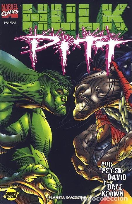 HULK / PITT - ESPECIAL FORUM. LA MASA. (Tebeos y Comics - Forum - Hulk)