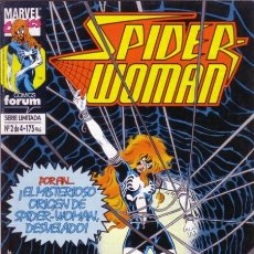 Cómics: SPIDER-WOMAN Nº 2 - FORUM. Lote 98116995