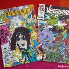 Cómics: LOS VENGADORES VOL. 1 NºS 114 Y 115 ( GRUENWALD LARRY HAMA ) ¡BUEN ESTADO! MARVEL FORUM. Lote 98183227
