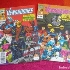 Cómics: LOS VENGADORES VOL. 1 NºS 118 Y 119 ( LARRY HAMA PAUL RYAN ) ¡BUEN ESTADO! MARVEL FORUM. Lote 98183395